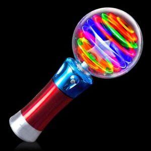 Light Up Magic Ball Light-Up Spinning Globe Star Wand Princess LED Batteries