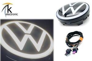 VW ID.4 weißes LED VW Logo Kühlergrill Nachrüstpaket