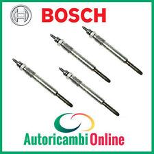 4 Candelette Bosch - 0250203002 - Lancia Musa