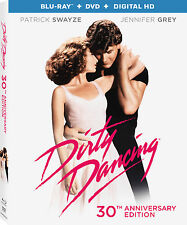Dirty Dancing: Patrick Swayze Movie 30th Anniversary Edition Box/BluRay Set NEW!