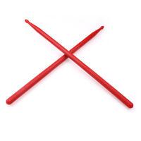 1Pair Plastic Nylon Durable Professional Drum Sticks Kit Lightweight Beginner UK