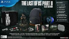 THE LAST OF US PART II 2 ELLIE EDITION COLLECTORS LIMITED PLAYSTATION 4 PS4 NEW