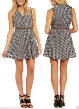 Collar Midi Sleeveless Shirt Dresses for Women