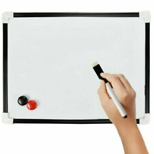 The Box Everyday A4 Dry Wipe Magnetic Whiteboard - White