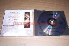 Elgar Ravel Faure NM UK CD English Sinfonia Sir Charles Groves Chanson De Nuit