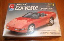 AMT Chevrolet Corvette Convertible Kit # 8607 Factory Sealed 1:25 10+