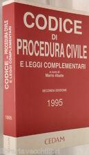 CODICE DI PROCEDURA CIVILE E leggi complementari A cura Mario Abate CEDAM di e