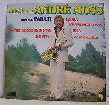 """33 tours ANDRE MOSS Disque Vinyl LP 12"""" DE BESTE VAN Saxo JR PRODUCTIONS 25564"""