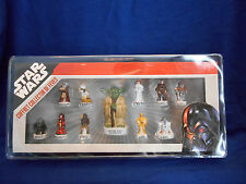 STAR WARS Set of 11 Mini FRENCH PORCELAIN FEVES Figures Boxed Display Figurines