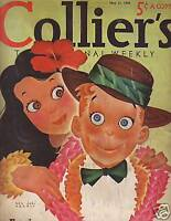 1940 Colliers May 11 - Sea Bisquit wins at Santa Anita
