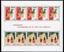 1981 MONACO BLOC N°19 DENTELE  EUROPA xx