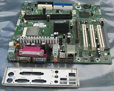 COMPAQ 283983-001 PENTIUM 4 MOTHERBOARD + I/O Shield TESTED IN WORKING CONDITION