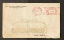 Very Old envelope Cancelled Dated 1934 New York Edison Company