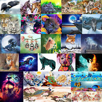 Variety of Animals 5D DIY Full Drill Diamond Painting Crafts Kit Home Decor Gift