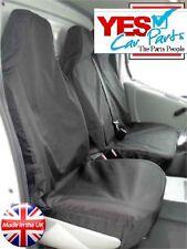 MERCEDES VITO 2011 VAN SEAT COVERS HEAVY DUTY WATERPROOF BLACK 2+1