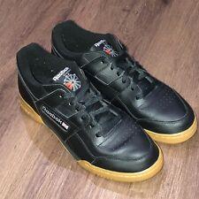 REEBOK Classic Workout Plus Black Mens Shoes Trainers CN2127 Size 9.5