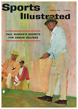 August 6, 1962 Paul Runyan Golf Sports Illustrated NO LABEL