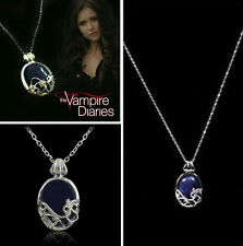 """The Vampire Diaries"" Katherine Pierce Antique Silver Pendant & Necklace Set"