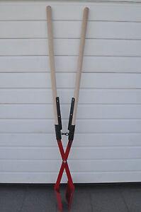 Handbagger - verstärkte Stielaufnahme - Lochspaten - Erdlochausheber - Größe 1