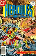 Hercules Unbound #11 - June-July 1977, 35¢ - Walt Simonson cover & interior art