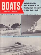 Boats July 1956 Running Lights, Marine Engines, Chapelle 051017nonDBE