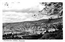 Valparaiso Chile Panorama Real Photo Antique Postcard J47237