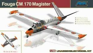 AVION AMK  1/48  FOUGA MAGISTER CM 170 NEUF   88004