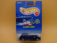 Hot Wheels Blue Classic Caddy w/ 5 spoke wheels Pkg# 44 MIP