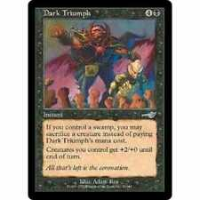 Urza's Destiny Black Collectable Card Games & Accessories