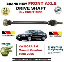 FOR VW BORA 1.6 Manual Gearbox 1998-2005 BRAND NEW FRONT AXLE RIGHT DRIVESHAFT