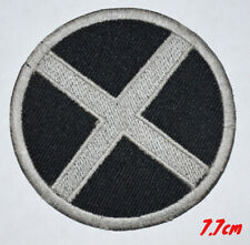 MEN Logo Suit Marvel Comic Movie Grey Badge Embroidered Iron on Patch #335