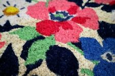 Colorful Floral Doormat