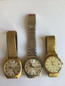 Job Lot 3 x Vintage Sekonda Men's Watches
