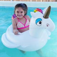 Giant Children Unicorn Pool Ride On Floating Unicorn Toy Unicornio Alverca Nina