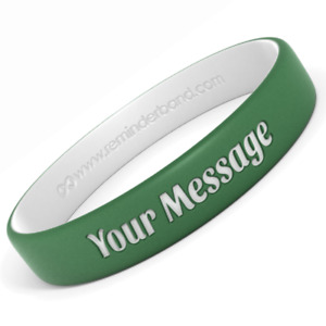 Custom Engraved Silicone Wristbands - Personalize Your Own Rubber Bracelets
