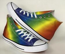 Converse Chuck Taylor All Star Pride Geostar High Top Unisex Sneakers Shoe 11.5