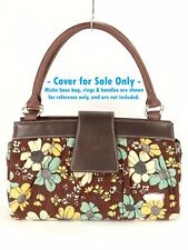 Miche Classic Bag Purse Shell ASHLEY Brown Floral Corduroy Cover Only $30 NWOT