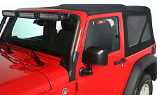 Soft Top Black Diamond 2 Door Jeep Wrangler JK 2010-2017 13737.35 Rugged Ridge