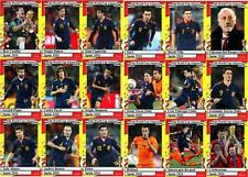 Spain 2010 World Cup winners football trading cards
