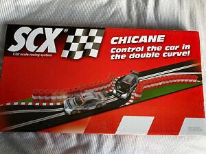 SCX 88690 Chicane Track Set Mint Boxed Sealed Spanish Scalextric