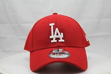 NEW ERA 9FORTY ADJUSTABLE HAT.  MLB.   LOS ANGELES DODGERS.  RED.