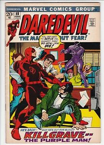 Daredevil # 88 FN (6.0). Killgrave. Black Widow. Marvel. OW pages
