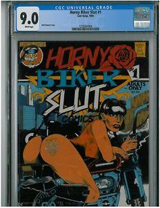 Horny Biker Slut #1 - CGC 9.0   Underground Comix Last Gasp - Highest Graded