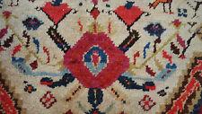 """Antique unique Kazak Oriental Rug Hand Knotted carpet 4' 8"""" X 3' 10""""(4'x5')"""