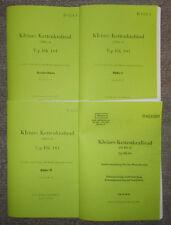 Dienstvorschrift Beschreibung NSU Kettenkrad Typ HK101 & Winterbetrieb