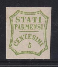 Parma Governo Provvisorio- 1859 c.5 verde giallo, ampi margini ottimo aspetto TL