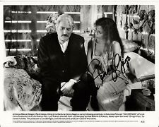 JENNY GAGO hand-signed OLD GRINGO 8x10 w/ lifetime coa GREGORY PECK '89 ORIGINAL