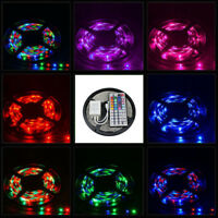 3528 RGB 5M Non Waterproof Strip 300 LED SMD Light + 44Key Remote Controller AT