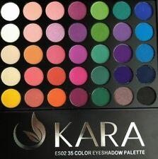 KARA 35 Color Eye Shadow Palette- Highly Pigmented 35 color Bright & Matte #ES02