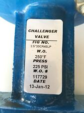 Challenger Butterfly Valve with Lever 2.5